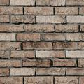 """Brown Brick Contact Paper Self Adhesive Brick Wallpaper Peel and Stick 3D Textured Vintage Brick Wallpaper Removable Wallpaper for Bedroom Kitchen Fireplace Home Wall Decor Vinyl 17.7""""x78.7"""""""