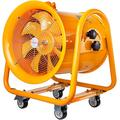 VEVOR Explosion Proof Fan, 16inch Utility Blower Fan 1.1KW 110V Portable Ventilator Explosion Proof Fan 60Hz 3450rpm Ventilation Fan for Extraction Ventilation in Potentially Explosive Environments