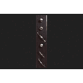 Amerock 22-1/2 in. H x 3 in. W x 4-3/4 in. L Brown Replacement Knobs and Pulls Drawer Front Displ