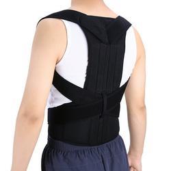 Fugacal Back Support Belt,Adjustable Back Posture Corrector Brace Back Shoulder Support Belt Posture Supports Correction,Back Shoulder Belt