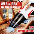12V 120W Handheld Car Vacuum Cleaner Portable 5000PA Dry Wet Cleaner Car Vacuum Cleaner Handheld Vacuum Cord Cleaner Handheld Vacuum Cleaner for Car Cleaning