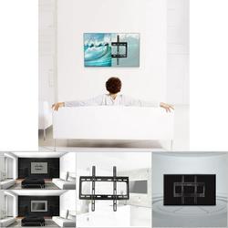 Mgaxyff Universal TV Stand,TV Wall Mount Bracket,LCD LED Flat TV Wall Mount Bracket for 26 30 32 37 42 46 47 50 52 55in