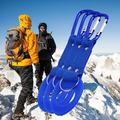 Carabiner Water Bottle Cage Holder Hook Hanger Buckled Clip Aluminum Rubber Nylon Keychain Ring Clasp Outdoor Sports Camping Hiking Tool