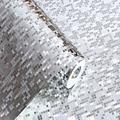 Famure Wallpaper-10M*53CM 3D Waterproof Glitter Mirror Effect Mini Mosaic Sparkle Light Reflection Gold Foil Silver Wallpaper KTV Bar Counter Column