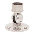 """CRL HR15PFPS Polished Stainless Adjustable Flange for 1-1/2"""" Tubing"""