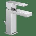 Delta Modern Single Handle Single Hole Lavatory Faucet in Chrome 567LF-PP