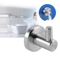 Mavis Laven Wall Mounted Hook, Stainless Steel Hook,Durable 304 Stainless Steel Bathroom Kitchen Wall Mounted Single Clothes Hook Home Towel Hanger