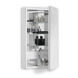 "Robern Plm2440re Pl 23"" X 39"" Frameless Medicine Cabinet Right Hinged"