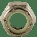 "1/4""-28 UNF NE (STANDARD) Nylon Insert Lock Nut, Stainless Steel (18-8), (inch) (Quantity: 7000)"