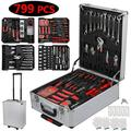 UBesGoo 799 pcs Hand Tool Set Mechanics Kit, Includes Screwdrivers, Toolbox