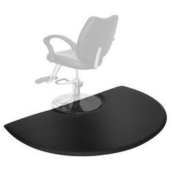 """3' x 5' Beauty Salon Anti-fatigue Mat Salon Mat, Barber Shop Chair Anti-Fatigue Floor Mat (Half Round - 7/8"""" Thick )"""