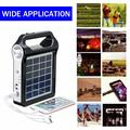 Portable Power Station, Solar Generator with Solar Panel & Flashlights for Home Emergency Backup Power, Camping Lights with Battery, USB DC Outlets, for Travelling Fishing Hunting, Garden, Yard
