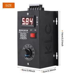 LYUMO Universal 6V - 90V PWM DC Motor Speed Control PLC 15A Governor Volt Display, DC Motor Speed Control, Motor Governor