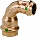 Viega 77330 ProPress Zero Lead Copper Reducing 90-Degree Elbow with 1-Inch by 3/4-Inch P x P