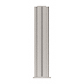 """CRL PP4318XBS Brushed Stainless 18"""" High 1-1/2"""" Square PP43 Plaza Series Counter/Partition 4-Way Post"""