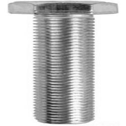 MB14114 Tap Bolt, Hex Head, 1/4-Inch-20 TPI by 1-1/4-Inch Length, 7/16-Inch Hex, Zinc Plated, 100-Pack
