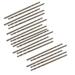 1mm Dia Split Point HSS Cobalt Metric Twist Drill Bit Drilling Tool 20pcs