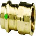 Viega 79370 ProPress Zero Lead Bronze Adapter with Female 2-Inch by 2-Inch P x Female NPT