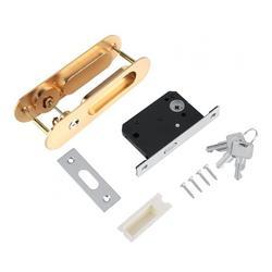 Mgaxyff Barn Door Handle, Sliding Door Lock Handle, Hardware For Sliding Door Quickly And Easily Wood Furniture Barn