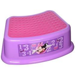 "Disney Minnie Mouse""Bowtique"" Step Stool, PinkColor: Disney - Minnie Mouse Bowtique"