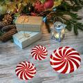 Tebru Floor Decals Sticker,Candy Wall Stickers,12Pcs Floor Wall Stickers Removable Candy Decals Cartoon Home Xmas Christmas Decor
