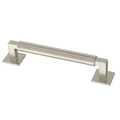 "Liberty P40077C-SN 5 1/16"" Modern Post Cabinet Drawer Pull Satin Nickel"