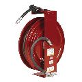 Alemite® 8079-B High Pressure Shielded Hose Reel, 1/4 in x 50 ft Hose, 6000 psi