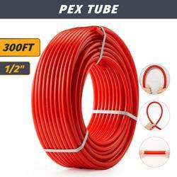 1/2 inch PEX Pipe 300ft Tubing PEX-B Plumbing Tube for Radiant Floor Heating