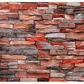 Stone Brick Peel and Stick Wallpaper - Brick Stone Wallpaper - 3D Faux Adhesive Wallpaper Faux Textured Brick Stone Look - Removable Wall Paper, or Shelf Paper - 17.71? Wide x 118? Long