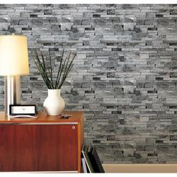 Tebru Retro 3D Wallpaper Bedroom Mural Roll Stone Brick Wall Background Textured Art, Retro 3D Wallpaper Bedroom Mural Roll Stone Brick Wall Background Textured Art