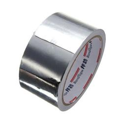 MOREFUN Aluminium Foil Duct Repairs Adhesive Sealing Tape Thermal Resist Resistant Foil Repair Tools, Professional Aluminum Foil Tape, 1 roll, 2-inch