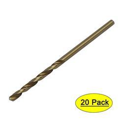 2mm Dia Split Point HSS Cobalt Metric Twist Drill Bit Drilling Tool 20pcs