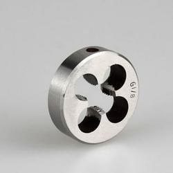 1pcs High Duty Pipe Thread Round Dies BSP 1/8 1/4 3/8 1/2 3/4 HSS Tools -