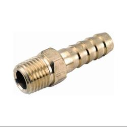 ANDERSON METALS CORP 1-Inch Male Iron Pipe x 3/4-Inch Hose Barb Brass Air Fitting