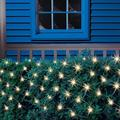 Holiday Time Net Christmas Lights, White 150 Count and Extension Cord Value Bundle