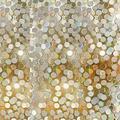 3D Circles Pattern Glass Film No Glue Privacy Window Film Decorative Static Cling Window Film