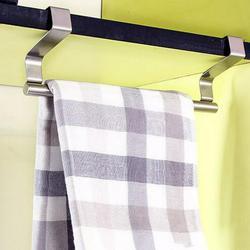 Jeobest Over Cabinet Door Towel Bar - Kitchen Over Cabinet Towel Bar - Kitchen Towel Bar for Cabinet - Kitchen Bathroom Towel Bar Rack Holder Kitchen Cupboard Dish Towel Bar Holder MZ