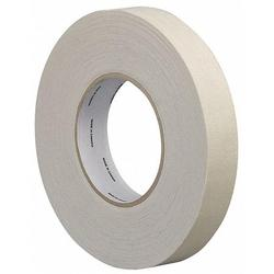 Tape Case Industrial Cloth Tape, 2 in X 60 yd, 10.5 mil Thick, White Cloth, 1 EA - 15C777