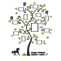 3D DIY Removable Photo Tree Acrylic Wall Decals Living Room Bedroom Wallpaper Home Company Wall Sticker