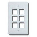 Allen Tel Products AT30-6-09 6 POS FACEPLATE - IVORY