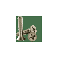 """1/4""""-20 x 4-1/2"""" Machine Screw, Stainless Steel (18-8), Phillips Flat Head (inch) Head Style: Flat, (QUANTITY: 100) Drive: Phillips, Thread: Coarse Thread (UNC), Fully Threaded"""