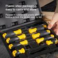 Yinrunx 8-pieces Set of Screwdrivers Flat-blade/phillips Screwdriver Toolbox Working Tool Kits Hand Tools for Repair Screwdriver Sets Precision Screwdriver Set Torque Screwdriver Pocket Screwdriver