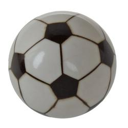 GlideRite 1-1/4 in. Soccer Ball Sports Dresser Drawer Cabinet Knobs, Pack of 5
