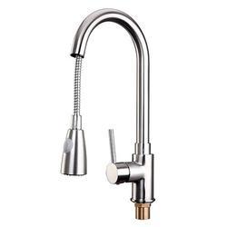 Kitchen Faucet Pull Down Kitchen Faucets Brass Kitchen Faucet with Pull Down Sprayer Modern Single Handle Kitchen Faucet Mixer Tap