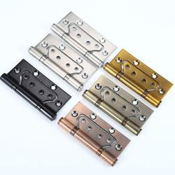 Stainless steel hinge 4 inch 2.5 cupboard mother and child red ancient hinge hinge door and window hardware accessories hinge hinge green ancient 4 inch 2.5 thick black (two pieces)