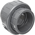 """Spears 897 Series PVC Pipe Fitting, Union with EPDM O-Ring, Schedule 80, 3/8"""" Socket"""
