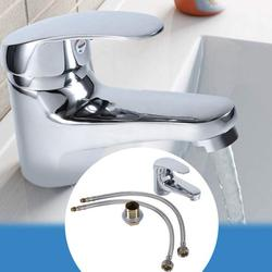 ACOUTO Basin Faucet,Bathroom Basin Sink Mixer Tap Chrome Single Lever Taps Faucet Free Delivery,Sink Faucet
