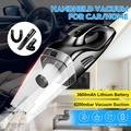 Handheld Vacuum Cordless Rechargeabl e Portable Vacuum Hand Cleaner 120W High Power Suction Wet Dry Hand Held Vac for Home, Pet Hair, Dust, Car Cleaning