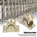 ANGGREK Sliding Gate Roller,U Type Roller,2pcs 32mm Sliding Gate Roller U Type Groove Wheel Track Rail For Sliding Gate Track