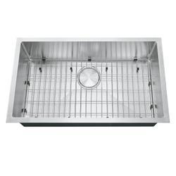 304 Kitchen Sink Premium Stainless Steel Single Bowl Undermount Handmade Kitchen Sink 30'' x 18'' x 9''